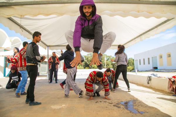 معسكر ESPWART للفنون البديلة بالشابة (11)