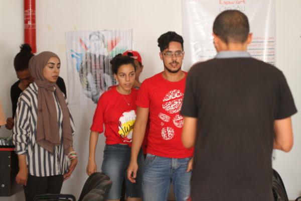 معسكر ESPWART للفنون البديلة بكسرى (21)