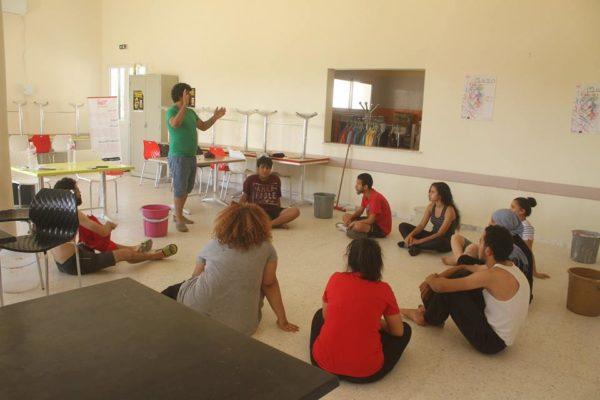 معسكر ESPWART للفنون البديلة بكسرى (24)
