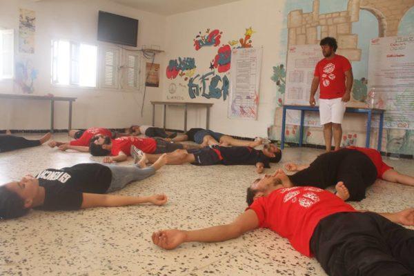معسكر ESPWART للفنون البديلة بكسرى (25)