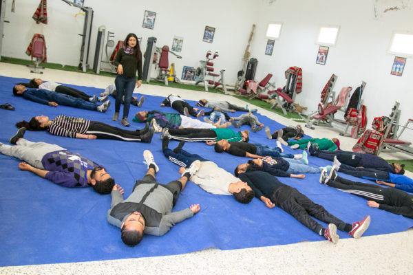 معسكر ESPWART للفنون البديلة بالشابة (4)