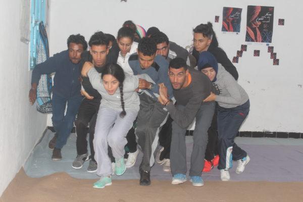 معسكر ESPWART للفنون البديلة ببنقردان (32)